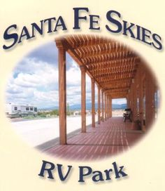 santa fe skies rv park New Mexico Best Places To Camp, Places To See, Sky Logo, Private Campgrounds, Best Rv Parks, Great American Road Trip, Sky New, Fes, Great View