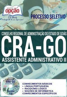 Saiba Mais -  Apostila Concurso CRA GO - Diversos Cargos  #apostilas Saiba como adquirir a sua http://apostilasdacris.com.br/apostila-concurso-cra-go-diversos-cargos/