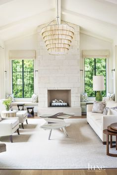 Sublime architecture and dazzling furnishings make these Los Angeles interiors incredibly chic.