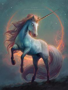 unicorn by mrssEclipse.deviantart.com on @DeviantArt Mythical Creatures Art, Mythological Creatures, Magical Creatures, Fantasy Creatures, Unicorn Drawing, Unicorn Art, Beautiful Unicorn, Beautiful Horses, Fantasy Kunst