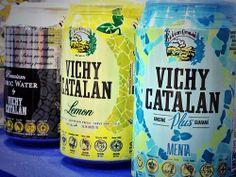 Tónica premium, Vichy Catalán Lemon y VCH Plus sabor menta
