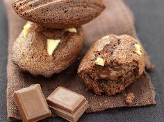 Madeleines aux pommes et pépites chocolat caramel - La Table à Dessert