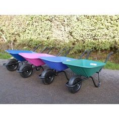 Carrimore Purple Super Barrow-Flat Pack The new 90Litre capacity wheelbarrow is ideal for size and balance it has a high quality plastic body with a