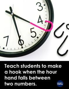 Teaching kids to tell time past the hour can be challenging but it doesn't have to be a struggle for you or your students. These classroom-tested tips and FREE telling time activities and for and grade students make learning to tell time mor Telling Time Activities, Teaching Time, Teaching Math, Teaching Ideas, Math Activities, Math Teacher, Telling Time Games, Teacher Binder, Teaching Strategies