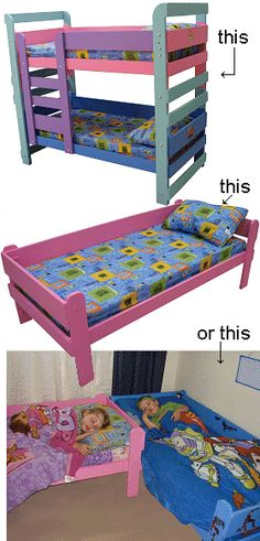 Reader Project Bunk Beds Using Crib Mattresses For