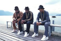 'Fresh Dressed' and 4 Elements of Hip-Hop Style - The New York Times Run Dmc, 80s Hip Hop, Hip Hop Art, Vintage Sportswear, Vintage Windbreaker, Hip Hop Dance, Hipster Outfits, Hip Hop Fashion, Dance Outfits