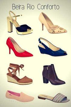 7501ea81b Marca de Calçados Confortáveis Femininos Beira Rio Conforto Calçados  Femininos Confortáveis, Beira Rio Conforto,
