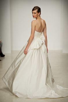 Amsale Bridal: Paige, back.