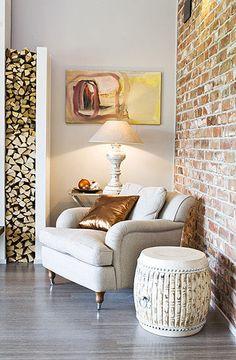 Gold, copper and beige interior decoration Living Room, Furniture, Home Decor Inspiration, Room, Interior, Home, House Interior, Interior Design, Lounge