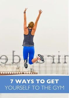Click here for advice on how to get motivated to work out. Just in time for swimsuit season!