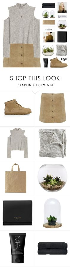 """Play With Prints In UGG: Contest Entry"" by lion-smile ❤ liked on Polyvore featuring UGG Australia, Miss Selfridge, Home Essentials, nineteen, Yves Saint Laurent, Dot & Bo, NARS Cosmetics, Dara Ettinger and thisisugg"