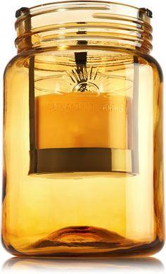 Mason Jar Drop-In 14.5 oz. 3-Wick Luminary - Slatkin & Co. - Bath & Body Works