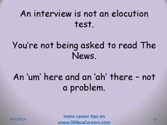 Don't beat yourself up trying to craft and chisel every word perfectly Job Interview Tips, Reading, Craft, Words, Creative Crafts, Word Reading, The Reader, Do It Yourself, Diy Crafts