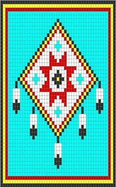 Indians Cherokee cross stitch.