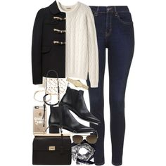 A fashion look from February 2016 featuring Peter Jensen sweaters, Mulberry and Topshop jeans. Browse and shop related looks.