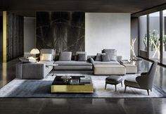 the minotti catalogue complement one another to perfection