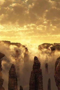 Mt Huangshan, Yellow Mountain, China