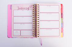 Monthly goals LDS Mormon Planner Inspired Life Planner 2017