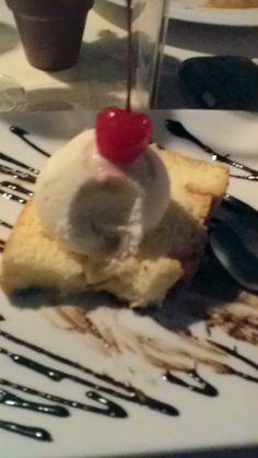Chiffon cake Ice Cream