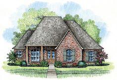 #653346 - Narrow Lot Acadian Home : House Plans, Floor Plans, Home Plans, Plan It at HousePlanIt.com