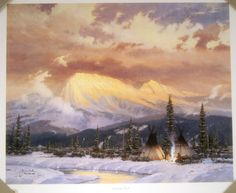 Lingering Day by Kinkade | Thomas Kinkade Art