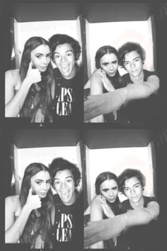 harry styles and lily collins - Google Search