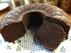 Επιτελους το τελειο κεικ σοκολατας! Cookbook Recipes, Sweets Recipes, Cake Recipes, Cooking Recipes, Desserts, Chocolate Bunt Cake, Cap Cake, Brownie Ice Cream, Greek Sweets