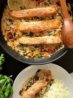 Fluted with goat - Clean Eating Snacks Healthy Dinner Recipes, Vegetarian Recipes, Cooking Recipes, Healthy Dishes, Salmon Recipes, Fish Recipes, Chili Recipes, Fish And Seafood, Clean Eating Snacks