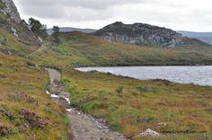 The novel is set in Wester Ross in the Highlands of Scotland. The Main Character flees the manor house and takes off up this path—ill-advised in the dark.