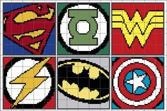 Graph Ghan Patterns   looking for your next project you re going to love 11 superhero graphs ...