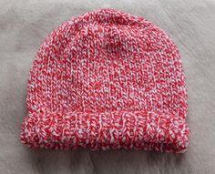 Family Double 8ply beanie via essentially knitting