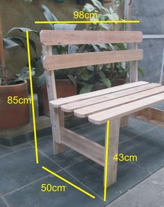 In that context, we're ready to show you some DIY chair ideas that we hope . It's a pretty simple thing to build and you can use the wood from a . Wooden Pallet Furniture, Wooden Pallets, Plywood Furniture, Furniture Projects, Diy Furniture, Plywood Art, Furniture Design, Recycled Pallets, Furniture Layout