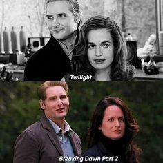 Twilight Book, Twilight New Moon, Elizabeth Reaser, Peter Facinelli, Breaking Dawn, Carlisle, Tv Series, Vampire Diaries, Memes