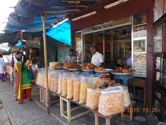 Famous Kerala Confectionery eatable products sold in Thrissur.