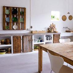 moois en liefs: Keukens uit hergebruikte materialen