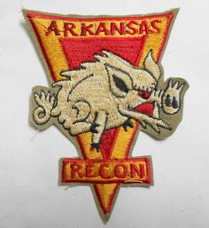 PATCH - MACV-SOG RT ARKANSAS RECON CCC 5th Special Forces - 5TH USSF