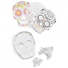 Marquee Skull (Set of 2), Ships FREE - Darby Smart