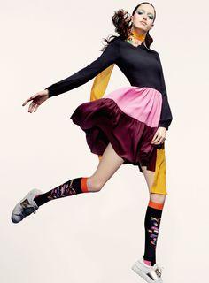 Josephine van Delden by Robbie Fimmano for Vogue Australia January 2015 8