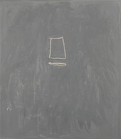 Cy Twombly, oil and crayon on canvas, 1967
