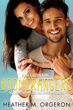 Cover Reveal: 'Boomerangers' by Heather M. Orgeron