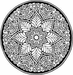 flower mandala - Google Search