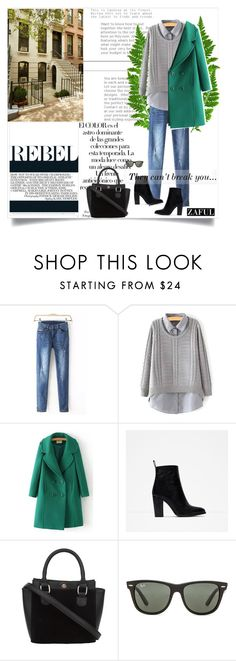 """""""zaful.com lkid=5695  (33)"""" by mell-2405 ❤ liked on Polyvore featuring Zara, Arco and Ray-Ban"""