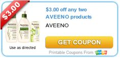 $3.00 off any two AVEENO products