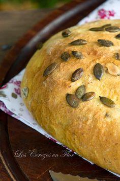 Pan de Calabaza y Suero de Leche - Los cerezos en flor