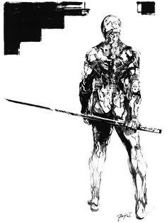 Ninja Black & White, Metal Gear Solid 1