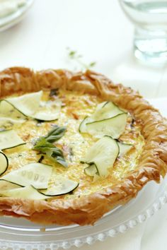 I love quiche ... Phyllo dough?  Smart!  I couldn't pull up the recipe, but I love the idea and look of this light breakfast
