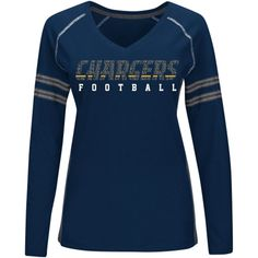 a074c0591 Official Los Angeles Chargers Pro Shop. San Diego ChargersNavy BlueDeepNflLong  SleeveClothes For WomenLos AngelesFootball SeasonT Shirt