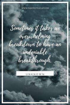 6 Quotes to Encourage You When You Feel Like You've Hit Rock Bottom Sometimes it takes an overwhelming breakdown to have an undeniable breakthrough. Powerful Quotes, Uplifting Quotes, Motivational Quotes, Mental Illness Quotes, Mental Health Quotes, Social Anxiety, Stress And Anxiety, Feeling Sad Quotes, Stress Relief Quotes