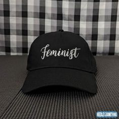 The time has finally come for Women to get the notoriety and respect they deserve.  You can proudly wear one of our bold Feminist hats and make your case heard that you stand for Women's rights around the globe!  Females unite, stand up for what's right!    #Feminist #Feminism #Females #Women #WomensRights #WomensSuffrage #GirlPower #Embroidered #Hats #Caps #Gifts #Stylish #Fashion