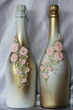 Botellas decoradas - 22
